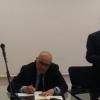 da sx AMaria Ackermann, Luigi caramiello, Pier Antonio Toma, Nino Daniele