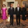 Il presidente Niinisto con la moglie ed il Presidente Macron e consorte (foto J.Kandell)