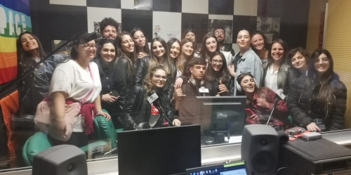 Studenti a Radio Siani