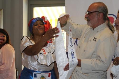 La premiazione Miss Chef Cinecittà World