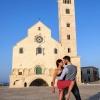 Milly Padovano e Valentina Guglielmi e la Cattedrale di Trani
