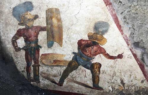 Affresco Gladiatori
