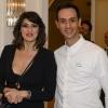 Elisa Isoardi ed uno Chef