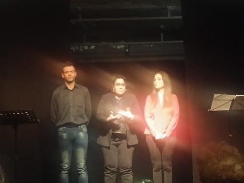 Tiziano Ferracci, Mariangela Petruzzelli, Carmen Piccolo