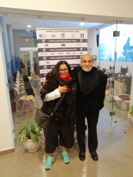 M.Manzini con Pino Ammendola