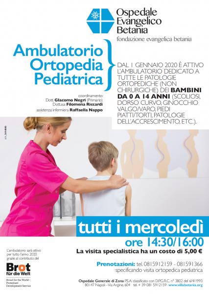 Ambulatorio di Ortopedia