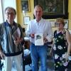 Guido Brunetti ricevuto dal sindaco di Sorrento