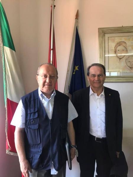 Teobaldo Acone e Floriano Zambon
