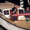 Arrivo in barca foto Roberto Moro