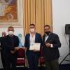 In foto: Perrone con Alfonso Pecoraro Scanio e Massimo Lucidi