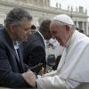 Il regista con Papa Francesco