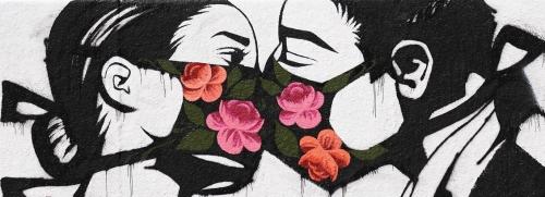 l'amore ai tempi della mascherina