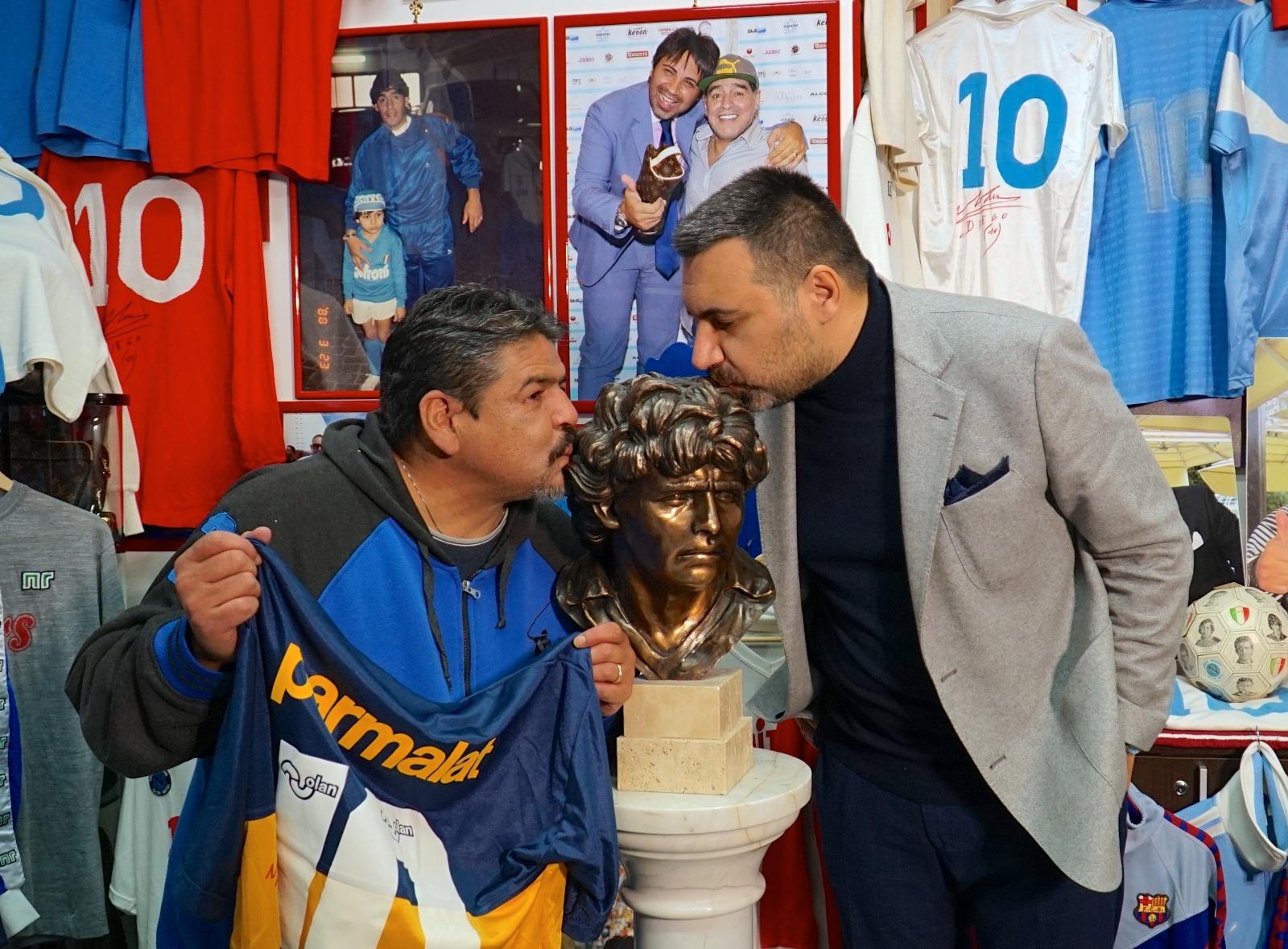 Luise ed Ugo Maradona